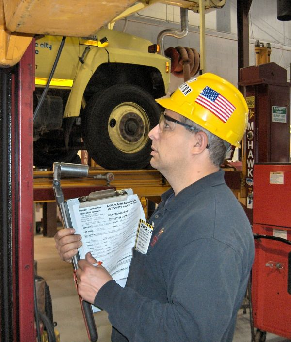 Lift Safety Inspection
